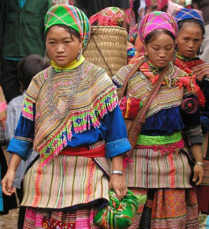 Traditional Dress of the Hmong in Vietnam