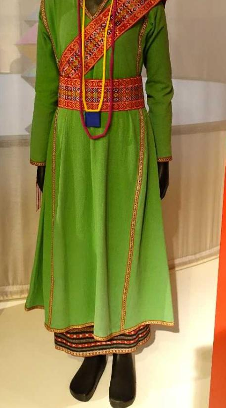 Traditional Dress of the Cham in Vietnam