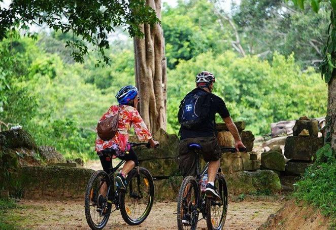 Bike to explore surrounding temples
