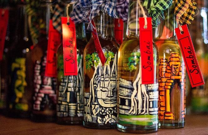 Taste new flavors of rice wine at Sombai