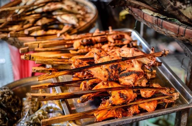 Go on a street food crawl