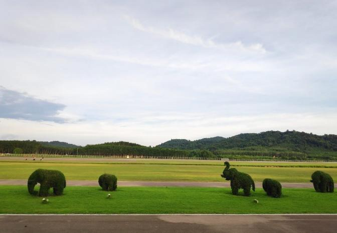 The view at Trat airport