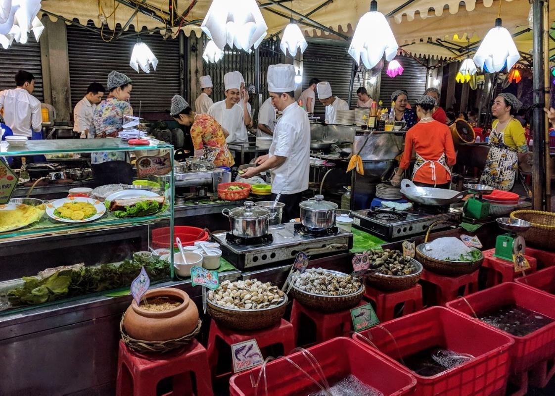 Ky Hoa Night Market