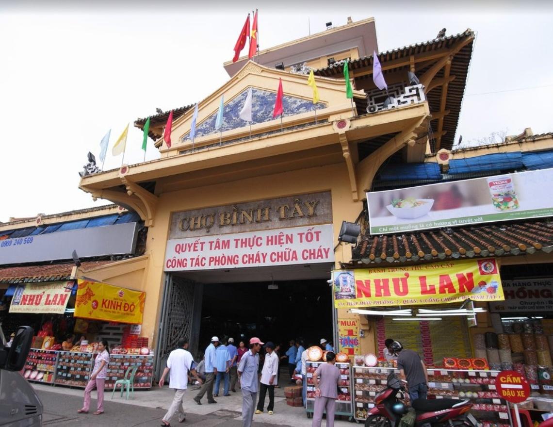 8 mache lannwit nan Ho Chi Minh City pou fè makèt aswè