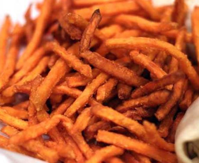 Fried yams