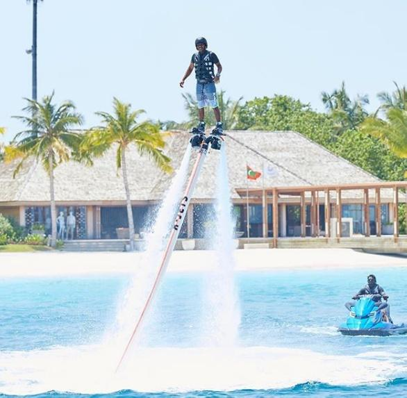 Flyboarding Maldives