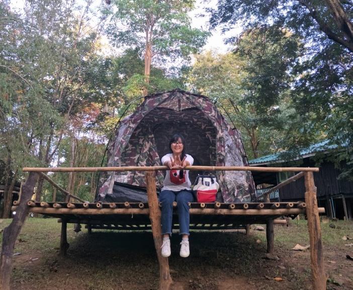 Кемпинг в Sai Yok National Park