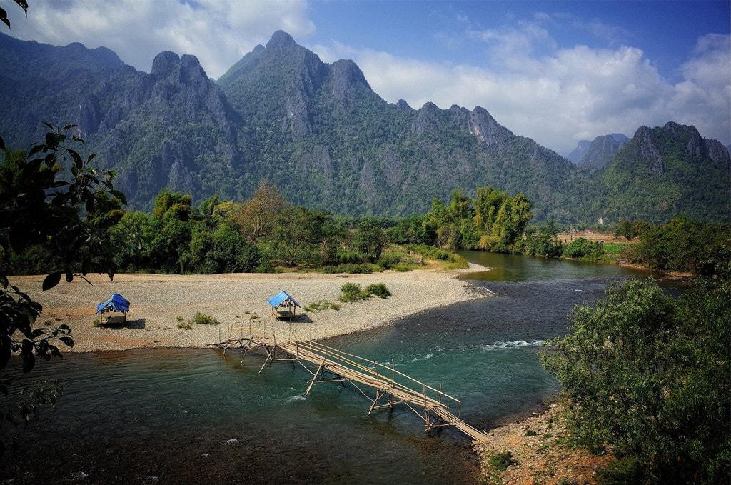 Ванг-Виенг, Лаос