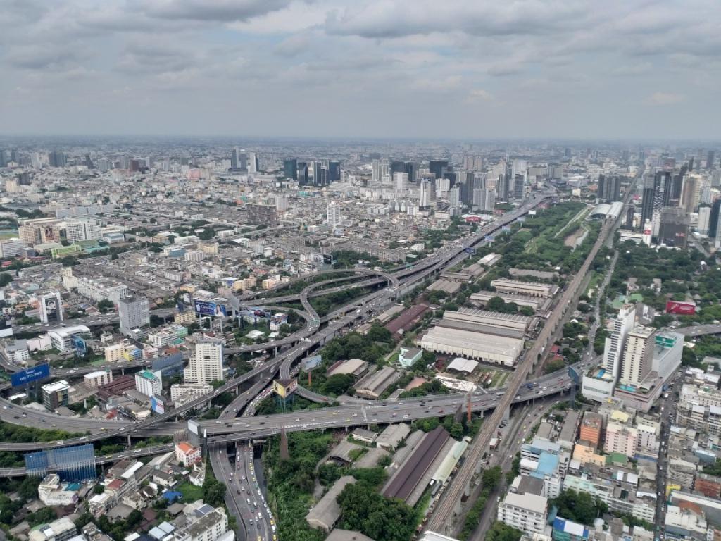 Бангкок с небоскреба