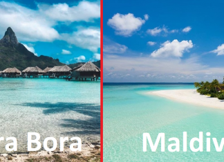 Bora Bora vs Maldives