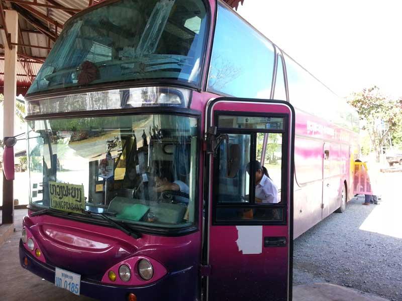 Из Луангпхабанга в Ванг-Виенг на автобусе