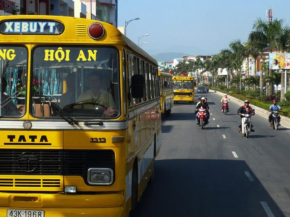 รถโดยสารในเวียดนาม
