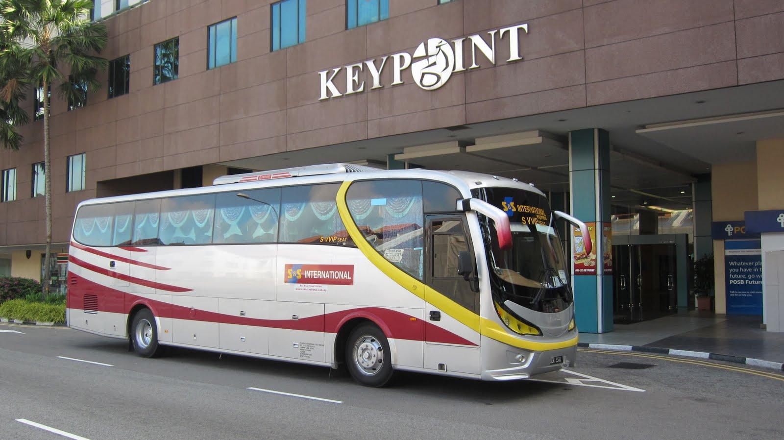 Автобус из Сингапура в Малакку