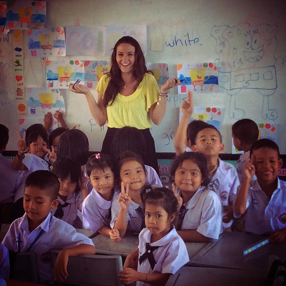 Учитель в Тайланде