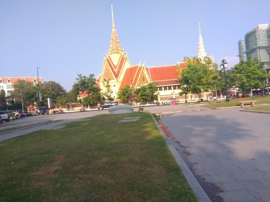 Храм в Пномпене