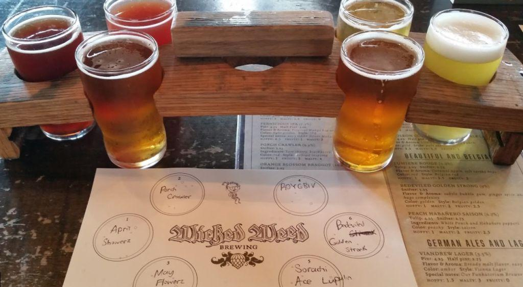 Wicked Weed Brewing's BrewPub