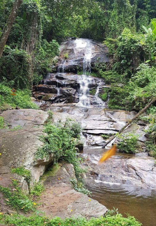 Девятиуровневый водопад