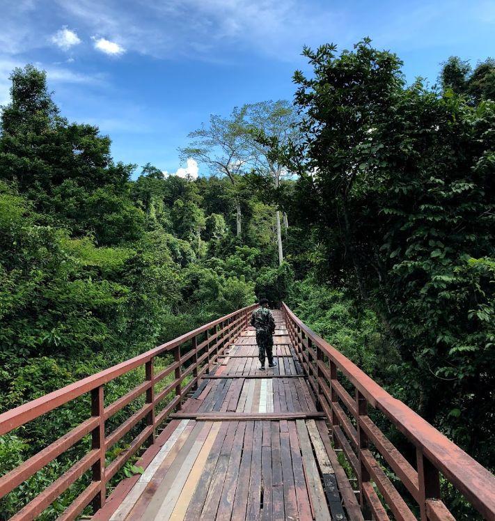 Мост в Khao Yai