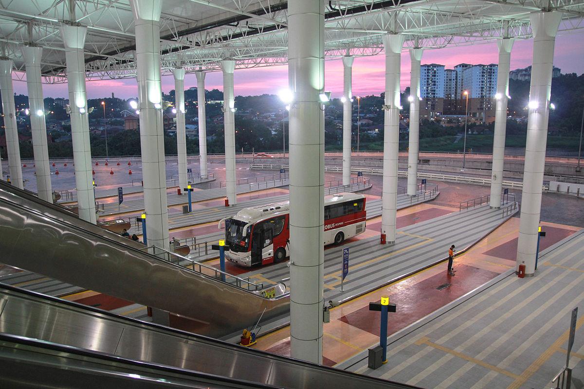 Автобусная станция Melaka Sentral bus terminal