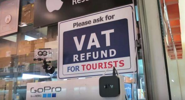 VAT refund in Thailand