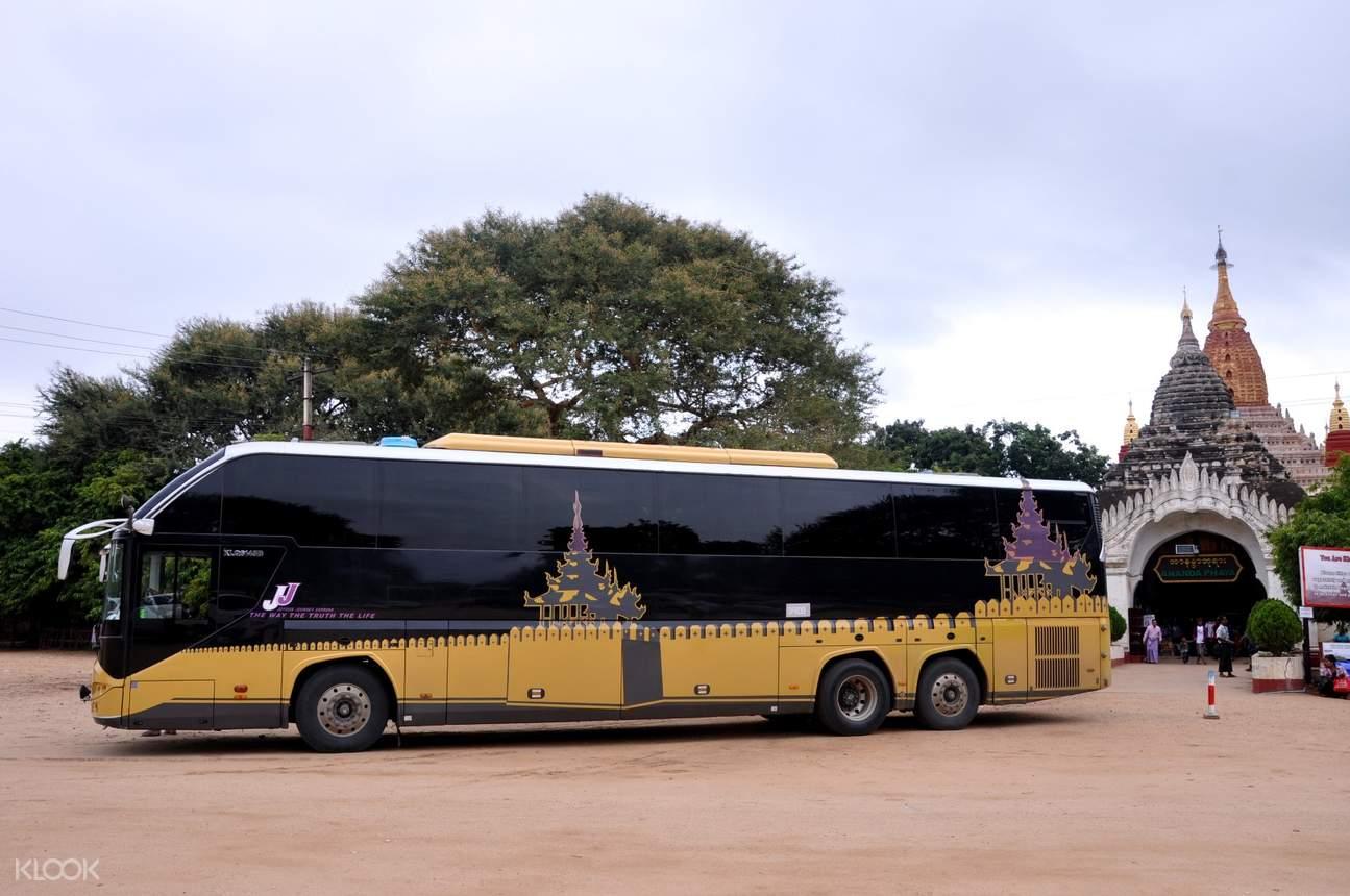Вип автобус в Мьянме