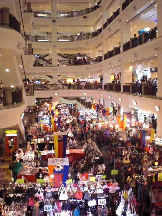 Торговый центр в Куала-Лумпур