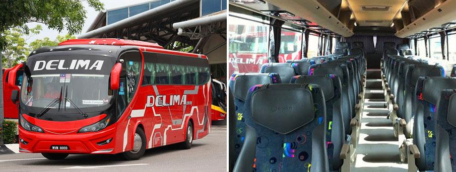 Автобус в Малакку
