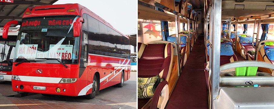 Автобус из Ханоя в Луангпхабанг