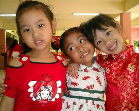 Школьники Тайланда