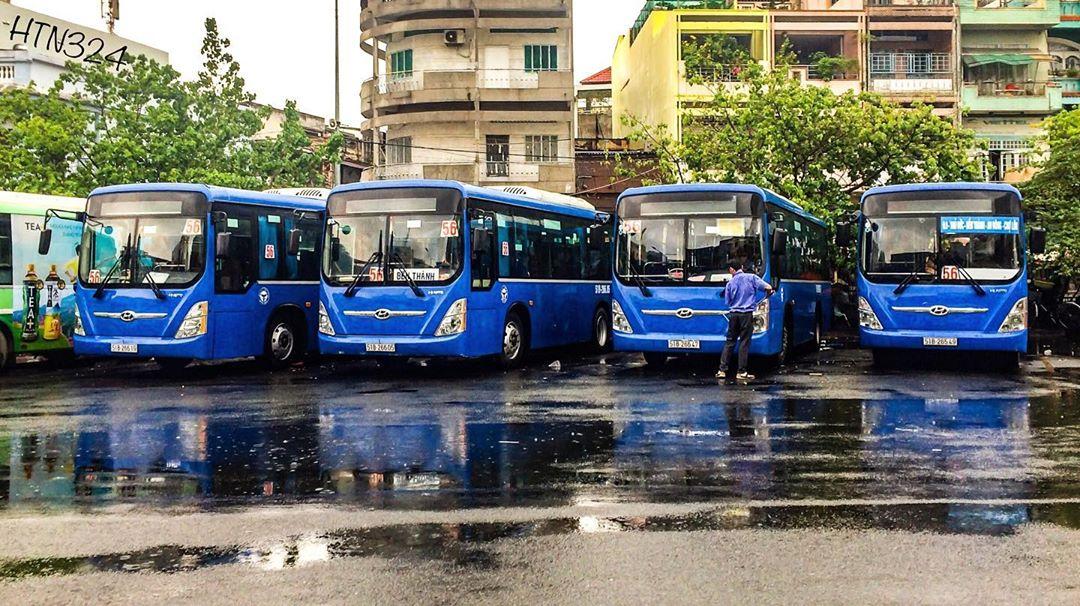 Автовокзал во Вьетнаме