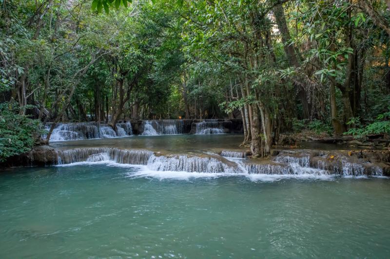 Huai Mae Khamin Falls