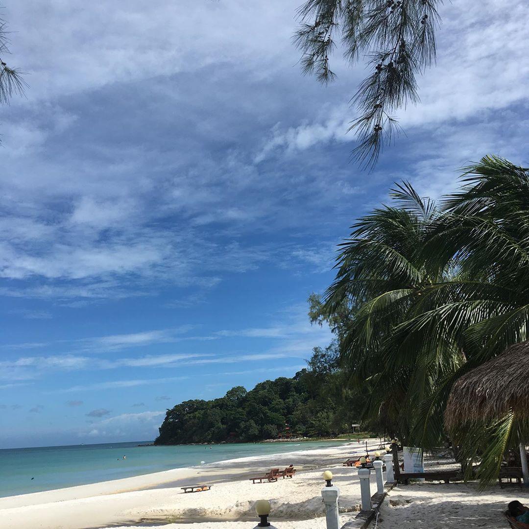 Пляж в Кох Ронг
