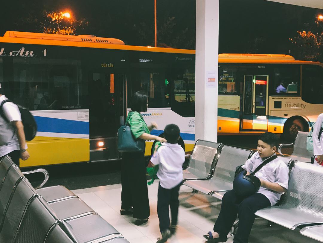 Автобус в Да Нанге