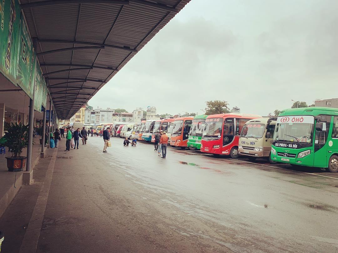 Автобусный вокзал Gia Lâm