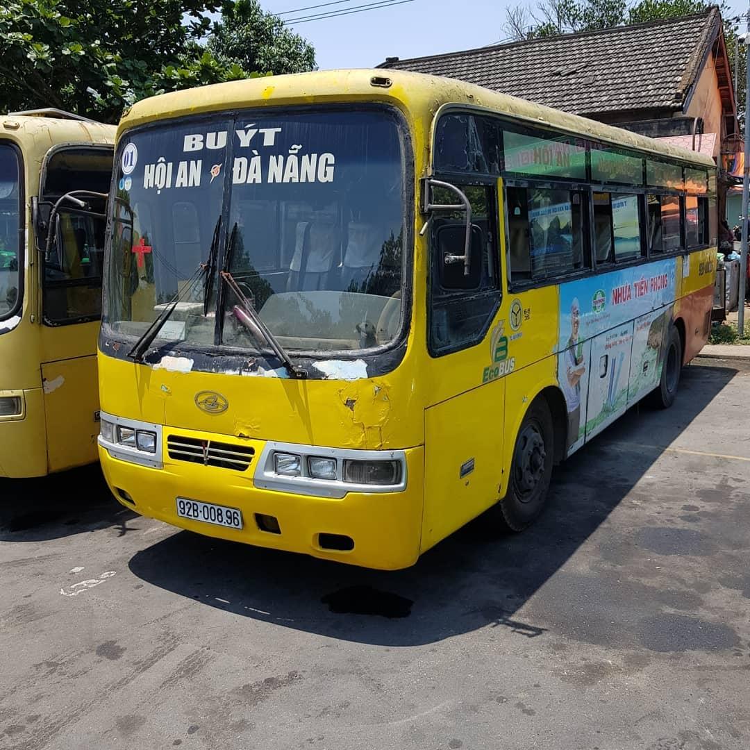 Автобус их Хойана в Дананг