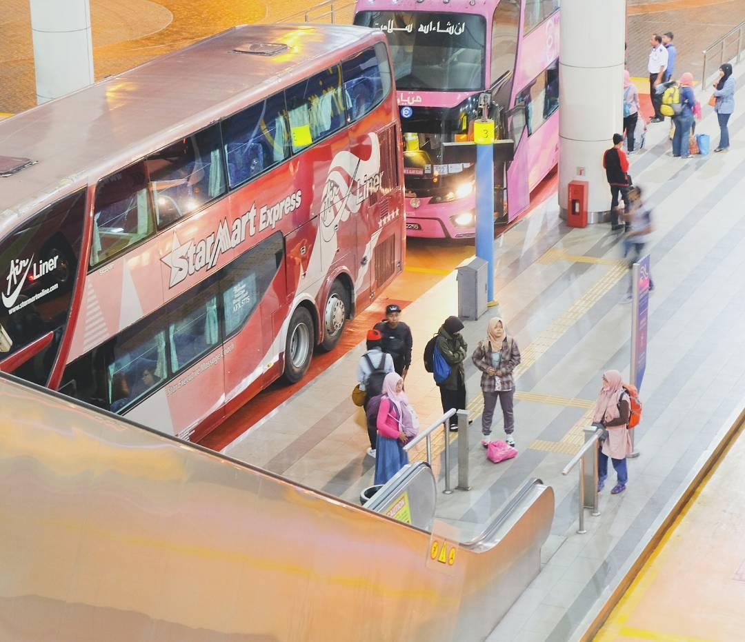 Автобусный терминал в Куала Лумпуре