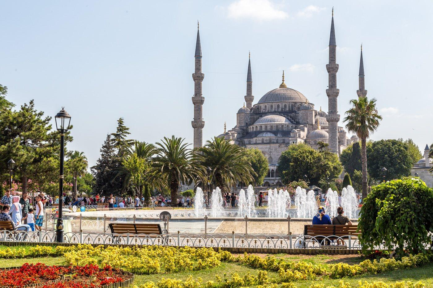 Sultanahmet ในตุรกี