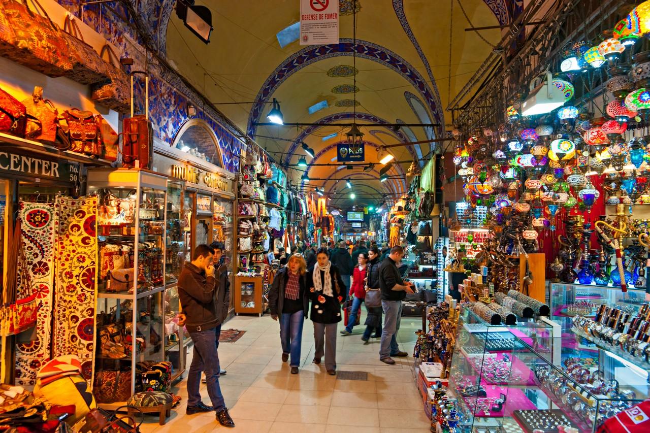 Grand Bazaar ในอิสตันบูล