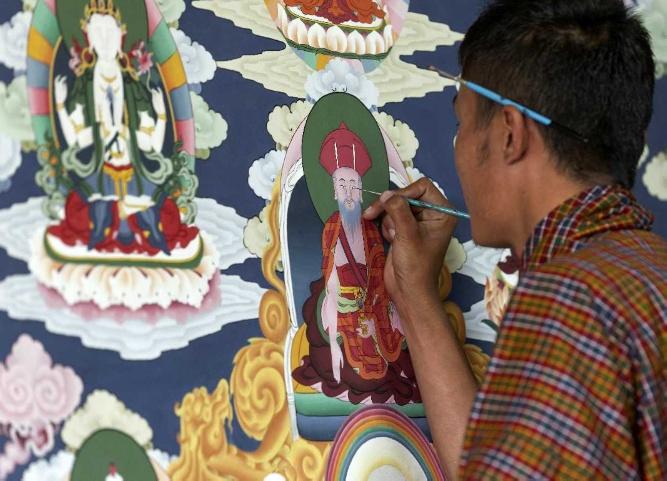 ศิลปะชาวภูฏาน