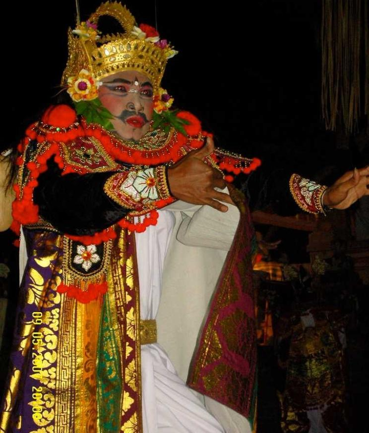 Gambuh is a Semi-Sacred Dance of Bali