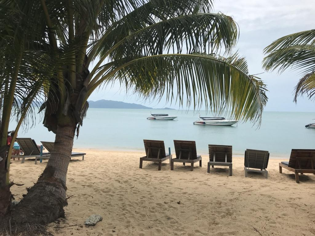 วันหยุดบนเกาะสมุย