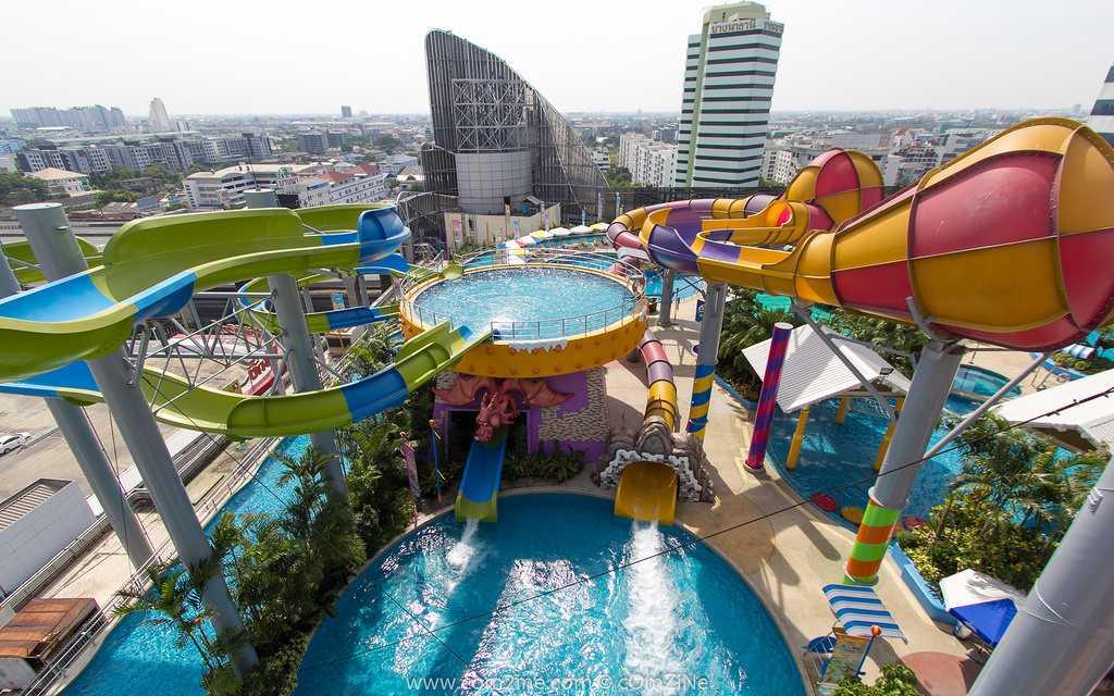 Lüks bir yay üçün Bangkokdakı 6 su parkları