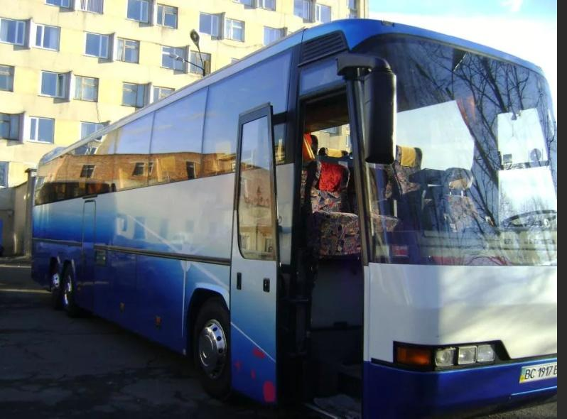 รถบัส Lviv เคียฟ