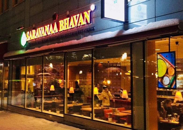 ร้านอาหาร Saravanaa Bhavan