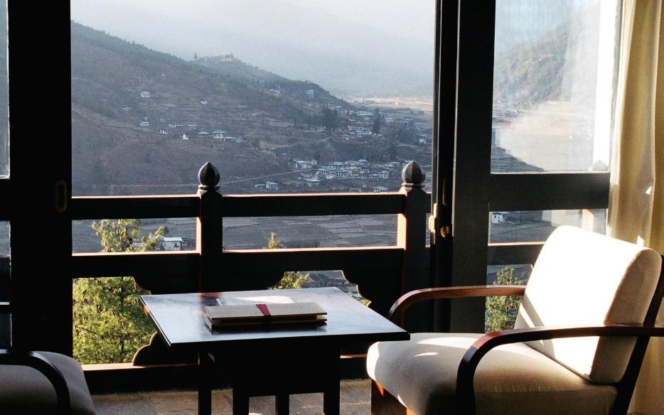โรงแรมในภูฏาน