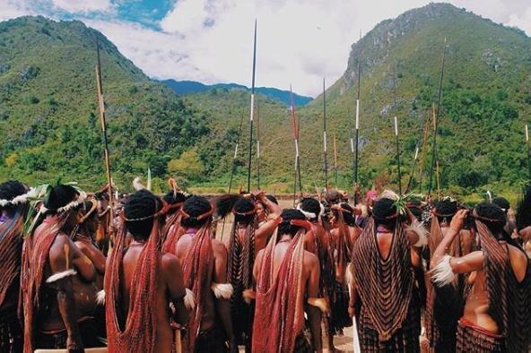 เทศกาล Baliem Valley