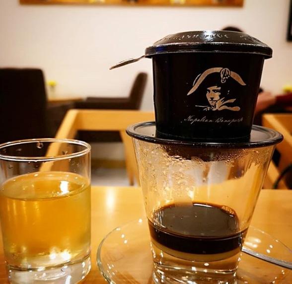 Ho Chi Minh coffee