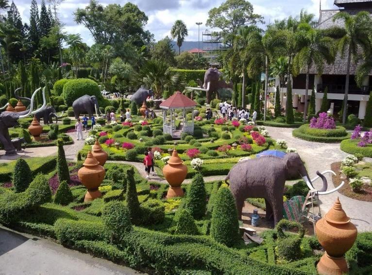 Tropischer Park Nong Nooch
