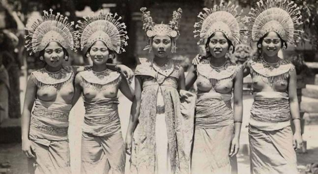 Ancient women of bali