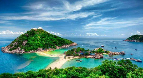 Koh Nang Yuan, Insel Tau, Thailand